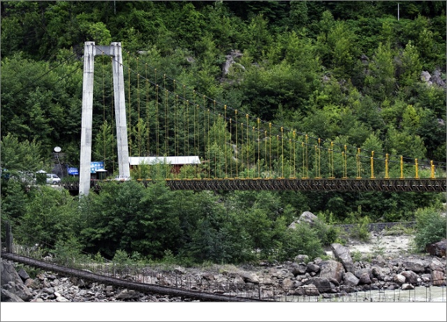 通麦大桥-自驾西藏 尼泊尔 八图片