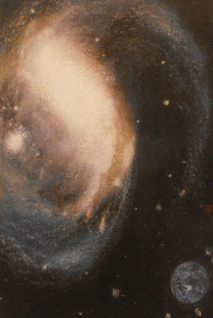 宇宙风 抽象画