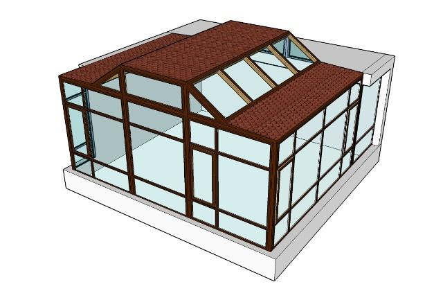 阳光房设计图