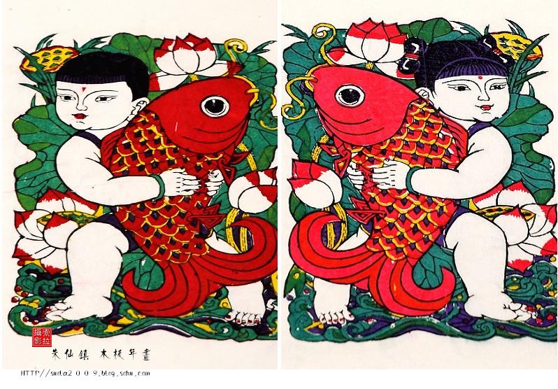 -朱仙镇木板年画