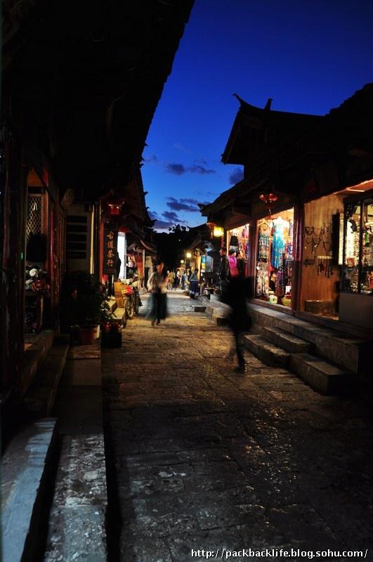 ...大研古镇是喧哗的,但是,也是宽容的、大度的,也是很美丽的古城...