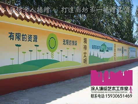 创建文明城市手绘宣传标语