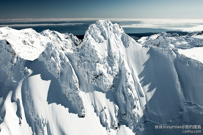 紐西蘭南島冰山