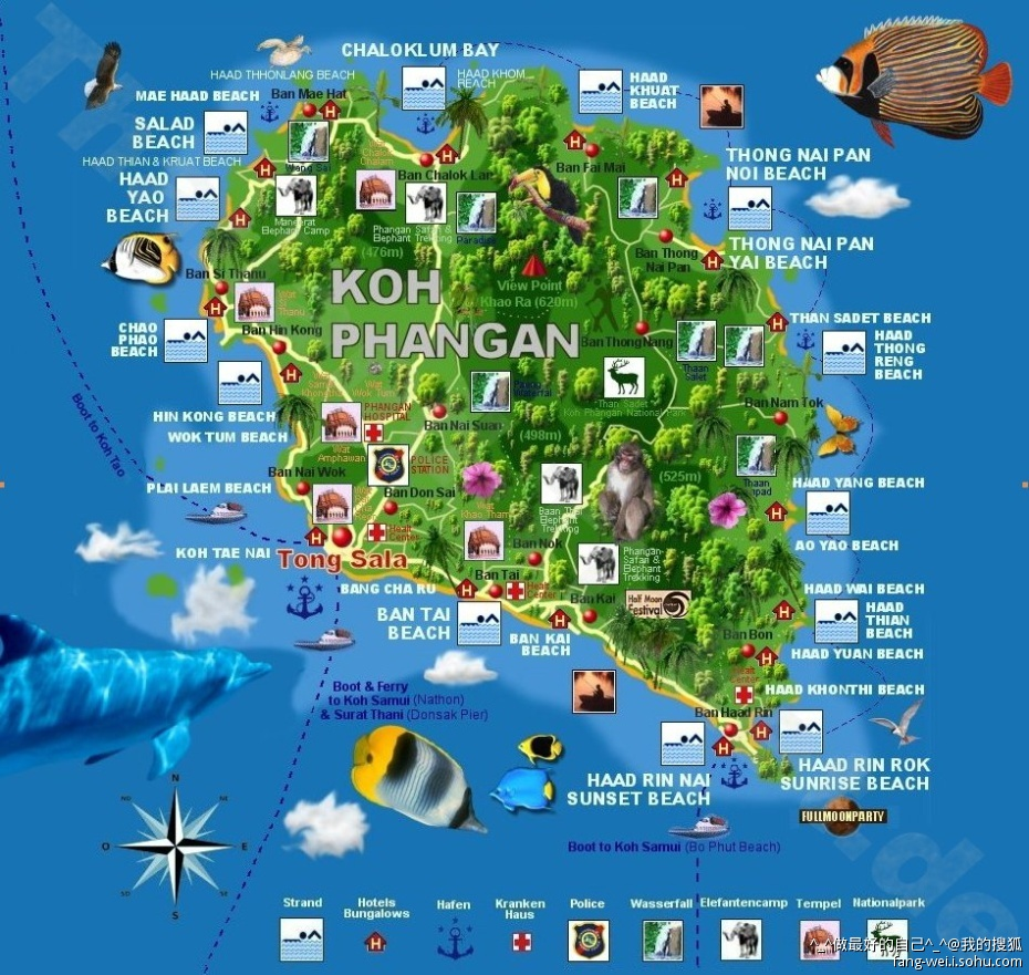泰国 地图矢量图