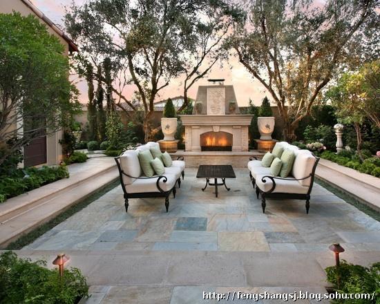 别墅庭院景观设计 中式别墅庭院 美式别墅庭院 法式别墅庭院 英式别墅图片