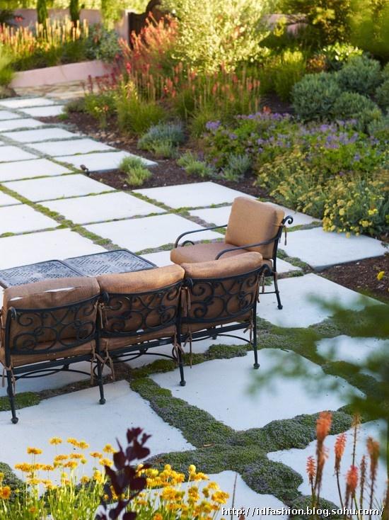 别墅庭院景观设计 美式别墅庭院