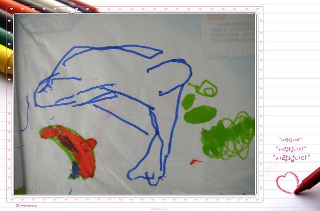 动物气球 去年刚上幼儿园那段时间特别喜欢画各种