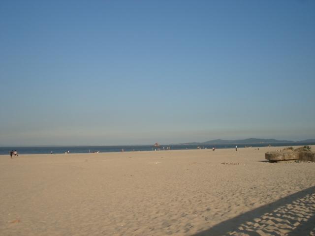 厦门观音山人造海滨浴场 号称全国最大