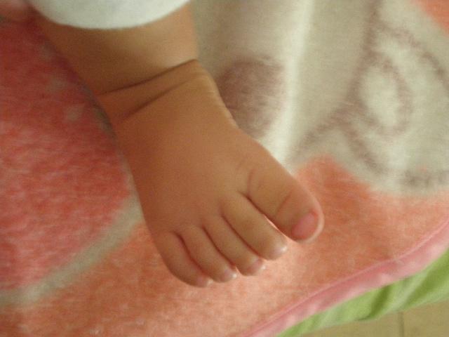 宝宝的脚丫子-开心宝贝-搜狐博客