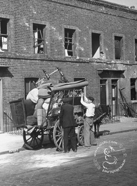 1940年大轰炸刚开始时的伦敦