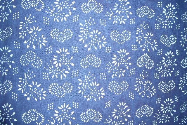 蓝印花布展