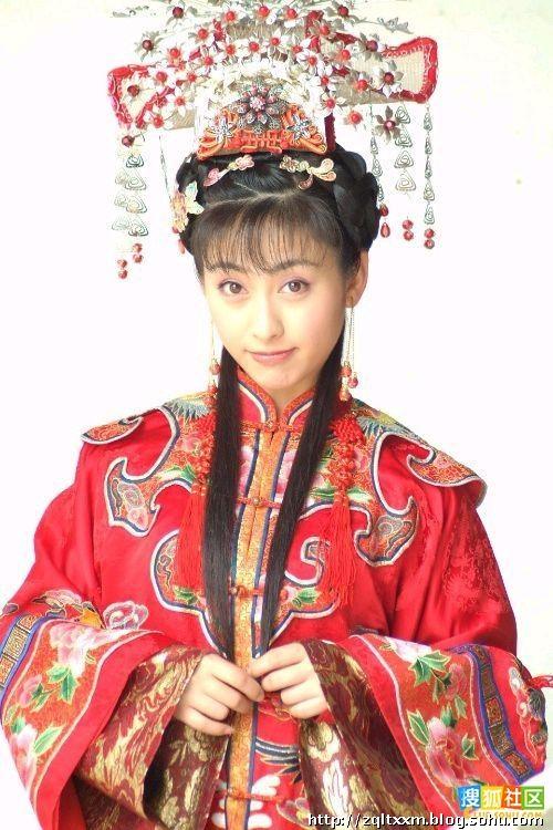 秦岚蒋勤勤_谁是最美的古装新娘?——上-踏雪寻梅-搜狐博客