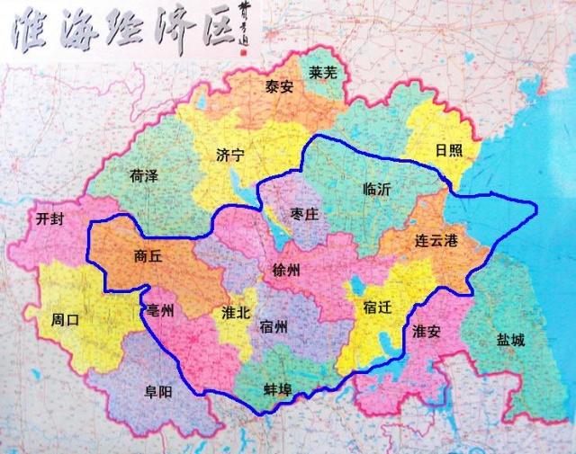 山东安徽江苏地图全图