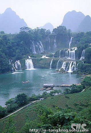 中国十大最美瀑布-心中有爱花开不败-我的搜狐