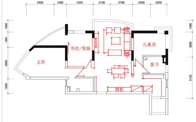 电路 电路图 电子 户型 户型图 平面图 原理图 640_401