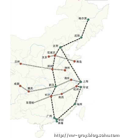 京广高速铁路在株洲天元区设株洲火车西站