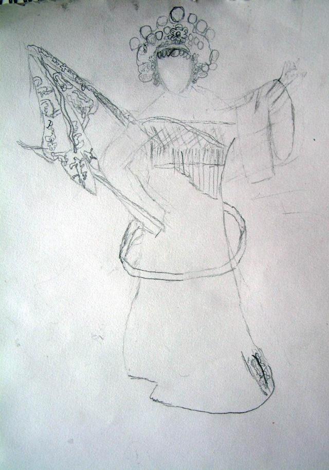 竹林素描简笔画内容图片展示