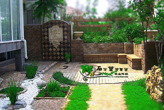 庭院墙面设计图