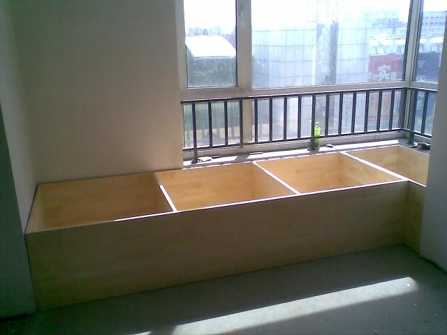 木工板做床图纸