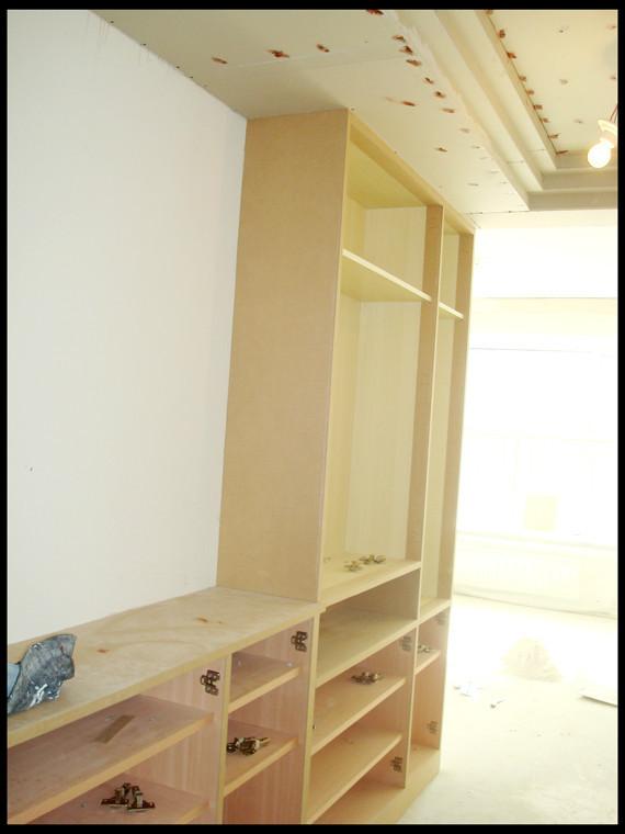 高低鞋柜带衣柜
