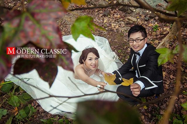 深圳现代经典婚纱摄影公司出品-深圳现代经典婚纱客片欣赏