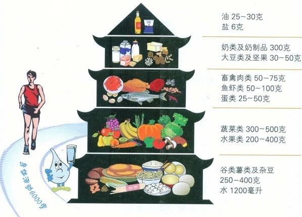 你会使用中国居民膳食宝塔?
