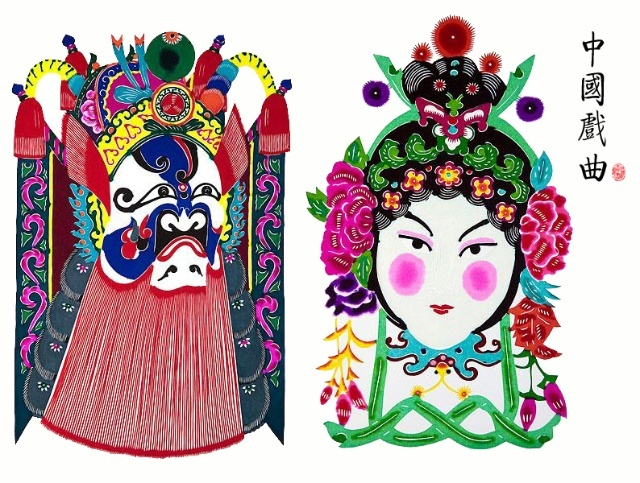 脸谱手抄报内容-使中国戏曲在世界戏曲文化的大舞台上闪耀着它的独特