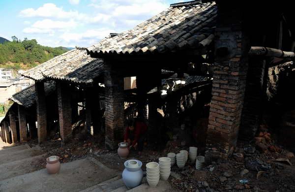 土陶窑炉结构图