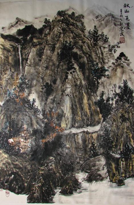 汕头画家高木松