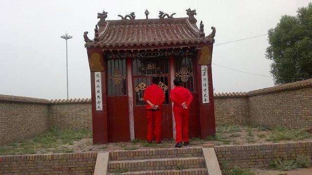农村庙宇设计图图片