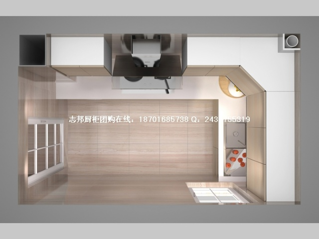 ,橱柜展厅设计效果图,2014厨房橱柜效果图