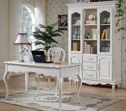 办公室软装设计 欧式的书房一眼就爱上