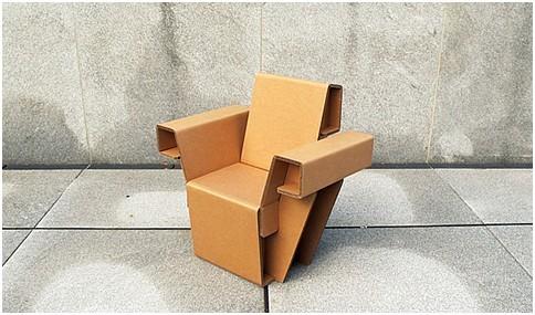 创意家居•环保纸板家具!