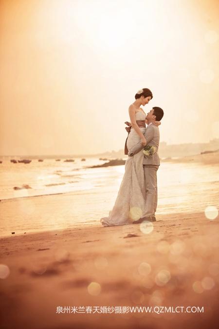 四季拍摄婚纱照的搭配 -泉州米兰春天婚纱摄影的空间