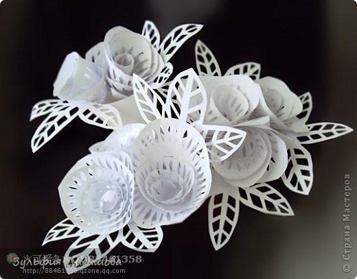 简单漂亮的卷纸剪花做法--搜狐博客