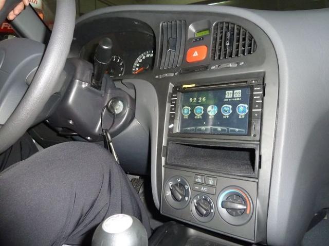 现代伊兰特升级恒晨专用车载dvd导航一体机,河北导航专卖