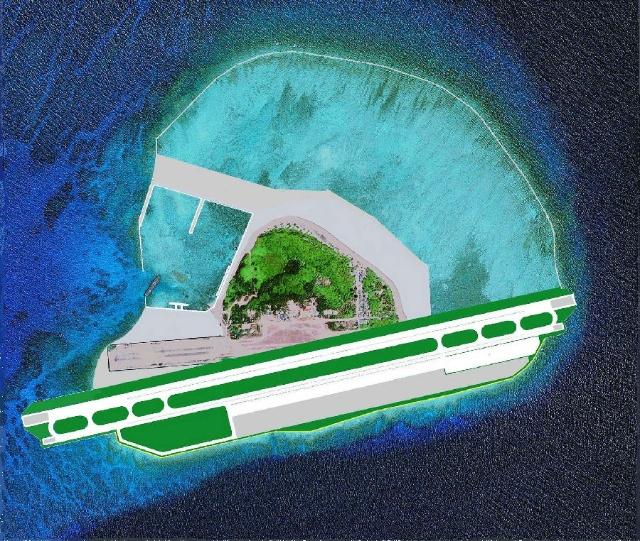 南海系列之15,南沙外国占领的部分岛屿收回后的建设