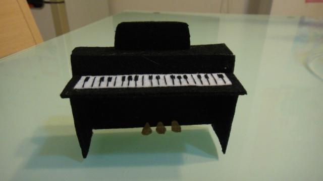 筷子手工制作钢琴大全图片步骤