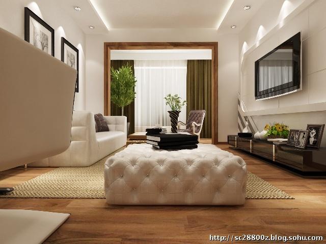 都市年轻白领装修110平米装修案例最佳选择