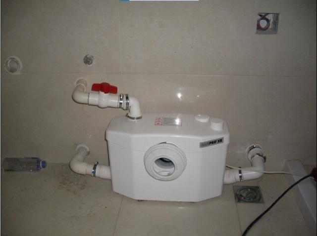 """福州""""大洋鹭州""""15号别墅马桶及淋浴房排水系统"""