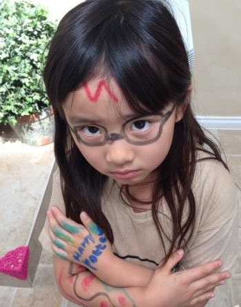 黄磊7岁女儿黄多多最新近照曝光(图)
