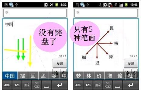 众所周知,汉字笔画只有五个书写方向:向右写横,向下写竖,向左下