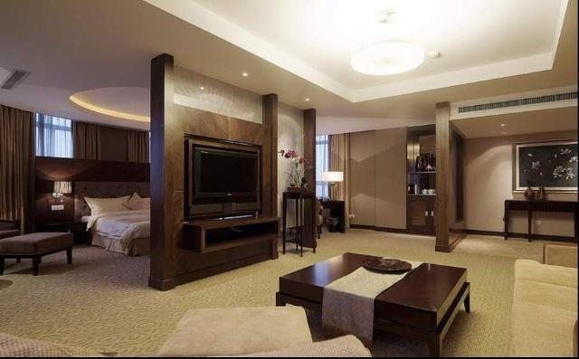 """锦茂宾馆坐落在素有青岛""""后花园""""美誉的青岛市即墨经济"""