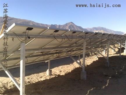 中国海爱电气-江苏海爱电气光伏支架 太阳能系统支架 太阳能发电站